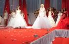 Свадебная мода на выставке