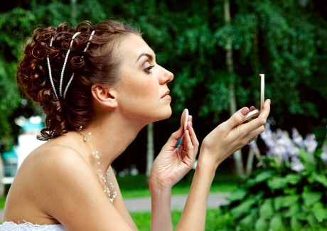 Свадебная прическа в греческом стиле: локоны