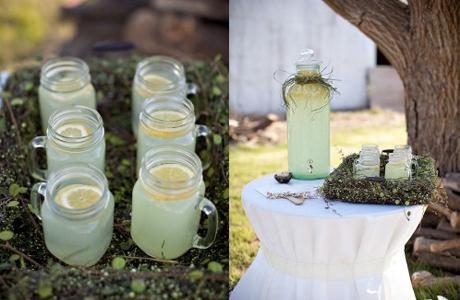 Свадебное меню - лимонад на свадьбу