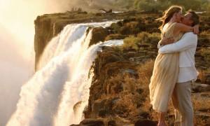 Свадебное путешествие к водопадам: