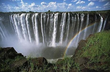 Водопад Виктория в Зимбабве