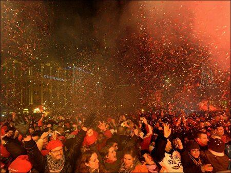 Новогодние праздники в Амстердаме