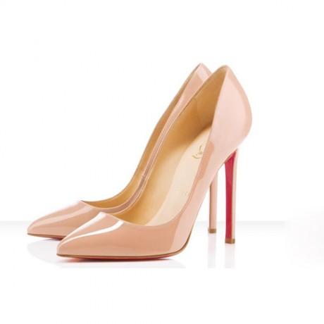 Туфли из лакированной кожи для невесты