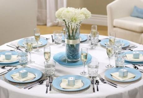 Свадебный этикет: сервировка стола