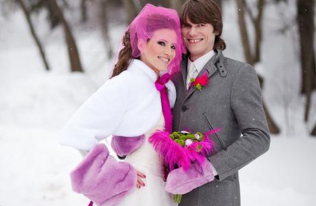 Модный головной убор невесты