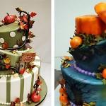 Марципановые украшения торта или настоящие? Главное, чтобы вкусно