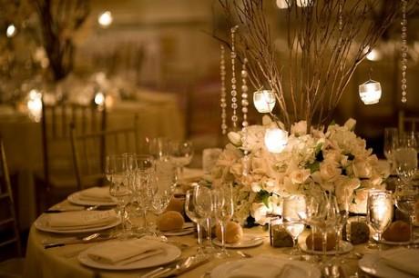 Новогодняя атрибутика для зимней свадьбы