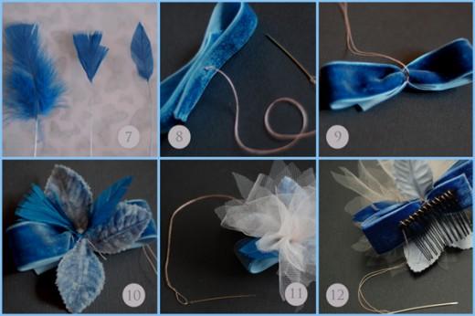 Хочу предложить небольшой мастер- класс Как сделать цветы из ткани...