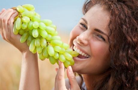 Виноградная диета перед свадьбой