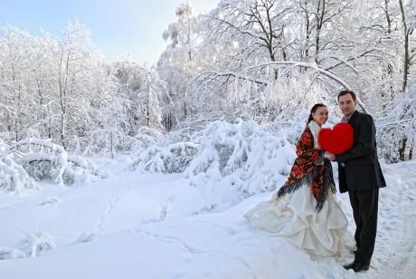 Свадебный сценарий для зимней свадьбы