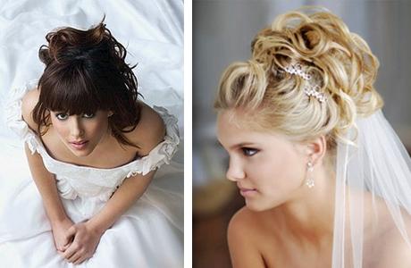 Свадебная прическа невесты: нюансы правильного выбора