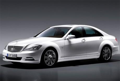 Свадебный кортеж - Mercedes-Benz S600