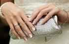Свадебный клатч невесты