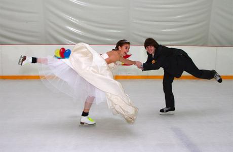 Свадьба на льду - поехали