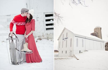 Коньки на свадьбу на льду