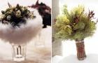 Букет для свадьбы зимой