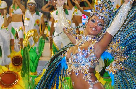 Свадьба как бразильский карнавал