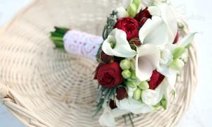 Букет для невесты «Белоснежка и семь гномов»