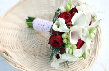 Букет невесты «Белоснежка и семь гномов»