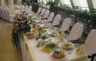 Банкет на свадьбу 2012