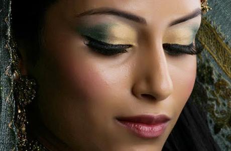 Свадебный макияж для шатенки - смуглая кожа