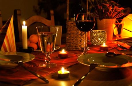 Предложение руки и сердца за ужином