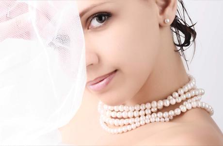 Свадебный макияж для зеленоглазой шатенки