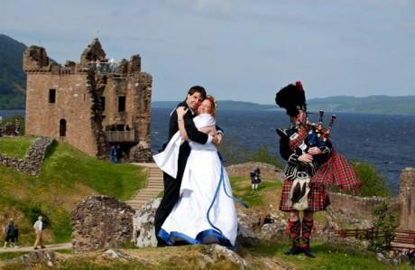 Свадтба в Шотландии - замуж в 2012