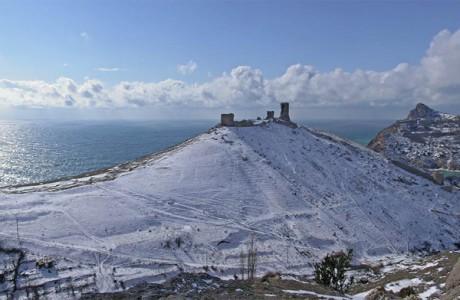 Генуэзская крепость для молодоженов