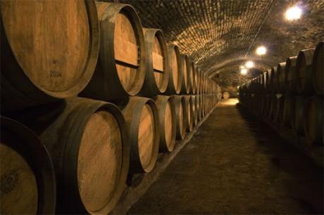 Бочки крымского вина
