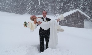 Свадьба в Швейцарских Альпах
