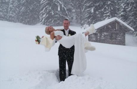 Места для свадьба - Швейцарские Альпы