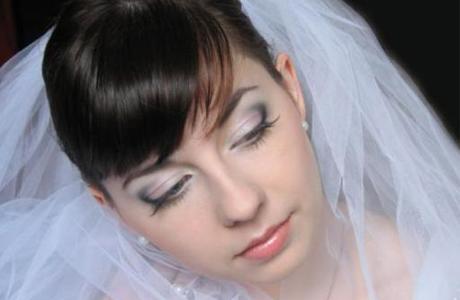Свадебный макияж на пробу