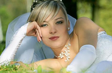 Романтический макияж для невесты