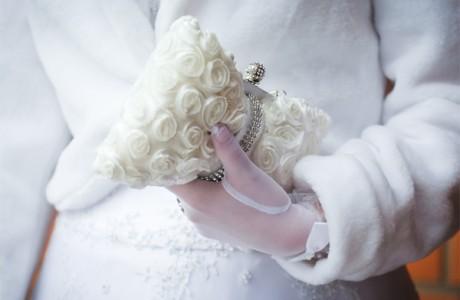 Сумочка невесты для свадьбы