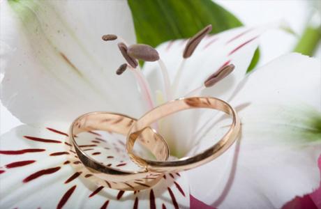 Свадебные кольца для церемонии