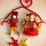 Свадебные куклы-обереги в народном стиле