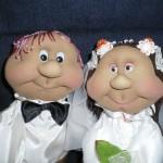 Закажи кукол на свадьбу у мастерицы