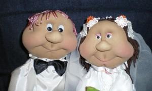 Куклы на свадьбу