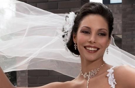 Свадебный макияж для невесты-шатенки
