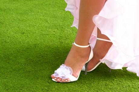 Грациозная походка невесты