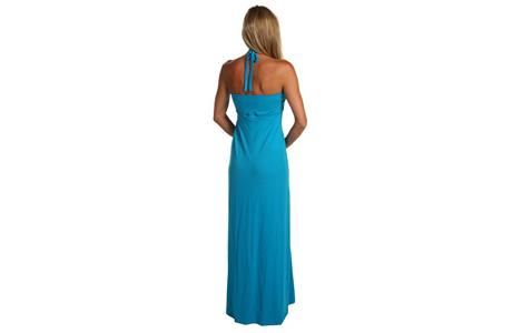 Голубое платье на новогоднюю свадьбу