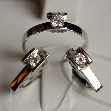 Подарок для невесты -ювелирный набор