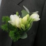 Бутоньерка для зимней свадьбы