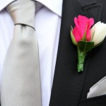 Бутоньерка жениха на свадьбе