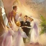 Открыткой в стиле винтаж можно поздравить и с венчанием