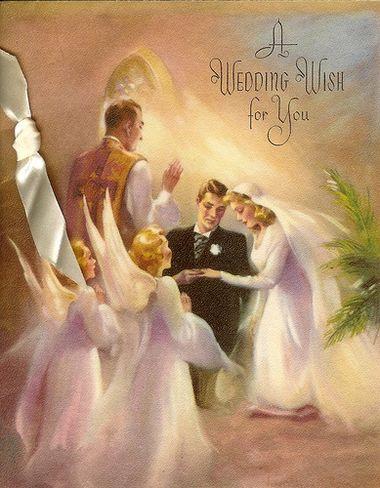 Поздравление на свадьбу в стиле винтаж