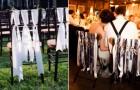 Как оформить стулья на свадебном банкете