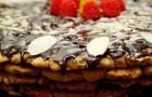 Постный торт на свадьбу