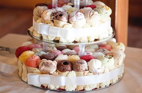 Торт-мороженое твоей мечты на свадьбе